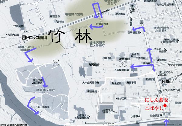 25・竹林:地図