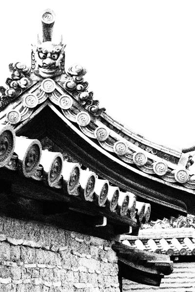 13・中性院の鬼瓦