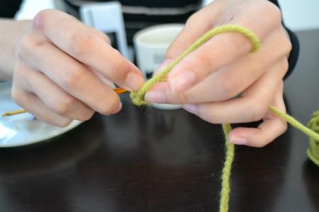 編み物特訓
