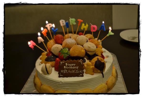 11誕生日ケーキ