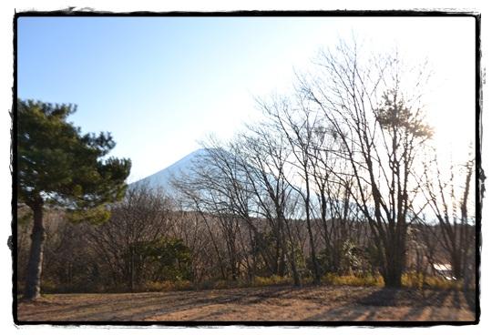 AGテントからの富士山