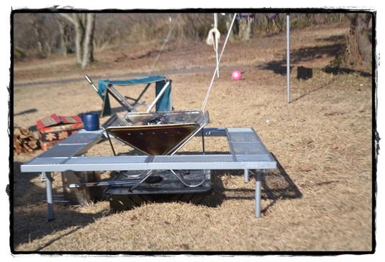 AG2たき火テーブル