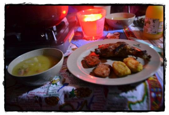 AG2夜ご飯