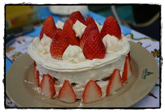AG2ケーキ完成