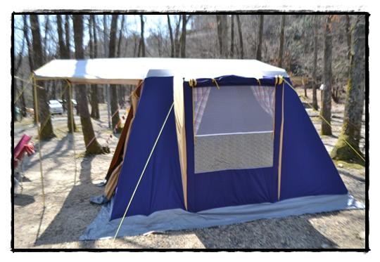 牧野可愛いテント
