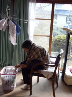 洗濯干し1