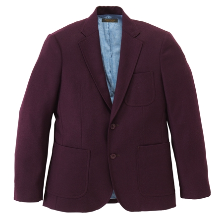 JK07 LIGHT WOOL JACKET BURGUNDY_R