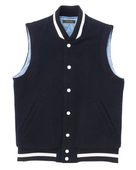 VE02 AWARD JACKET VEST NAVY_R