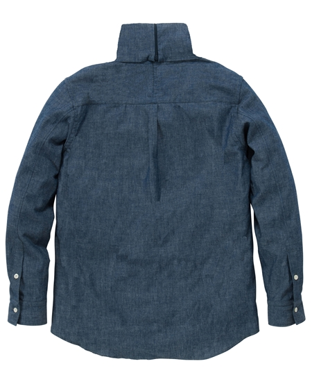 SH10 TURTLENECK SHIRTS CHAMBRAY(2)_R