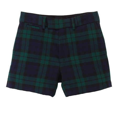 SO03 BLACK WATCH WOOL SHORTS_R