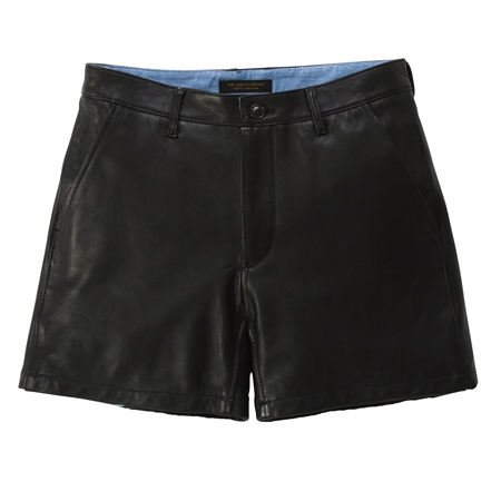 SO05 LEATHER SHORTS BLACK_R