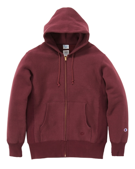 CS02 CHAMPION ZIP-UP PARKA BURGUNDY_R