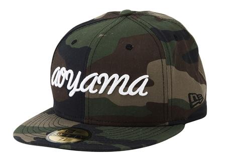 A2-AC01 NEW ERA aoyama CAP CAMO_R