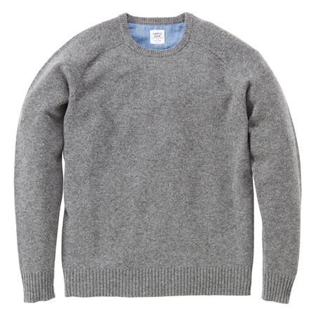 KN03 CREW-NECK KNIT GREY_R