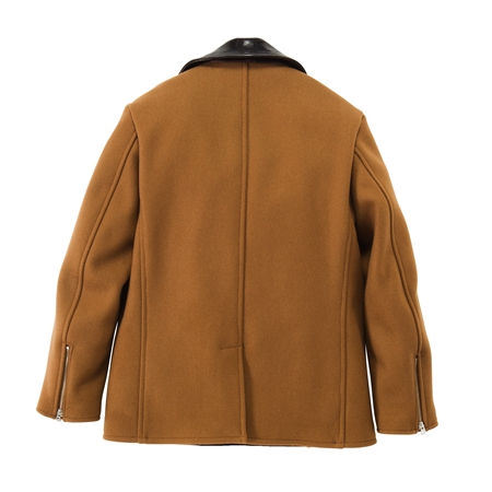 CO18 WOOL RIDERS PEA COAT CAMEL(2)_R