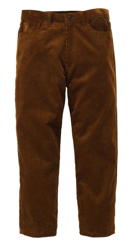 TR06 CORDUROY PANTS BEIGE_R