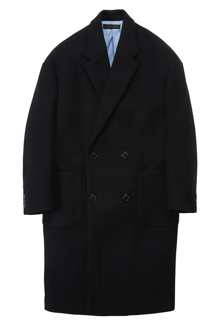 CO13 WOOL CHESTER COAT BLACK_R