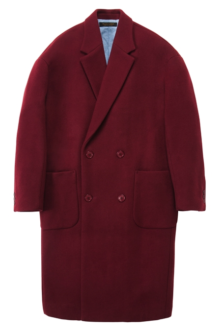 CO13 WOOL CHESTER COAT BURGUNDY_R