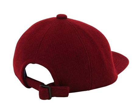 AC05 WOOL BASEBALL CAP BURGUNDY(2)_R