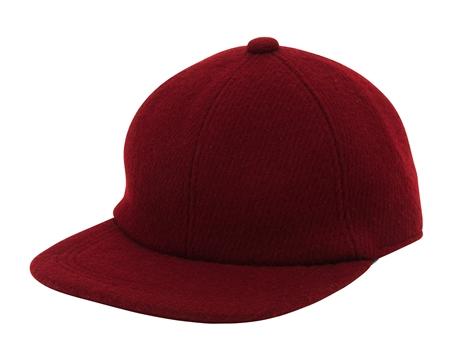 AC05 WOOL BASEBALL CAP BURGUNDY_R