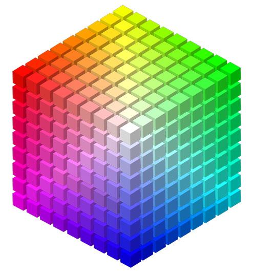 六角形色相