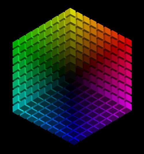 逆六角形色相