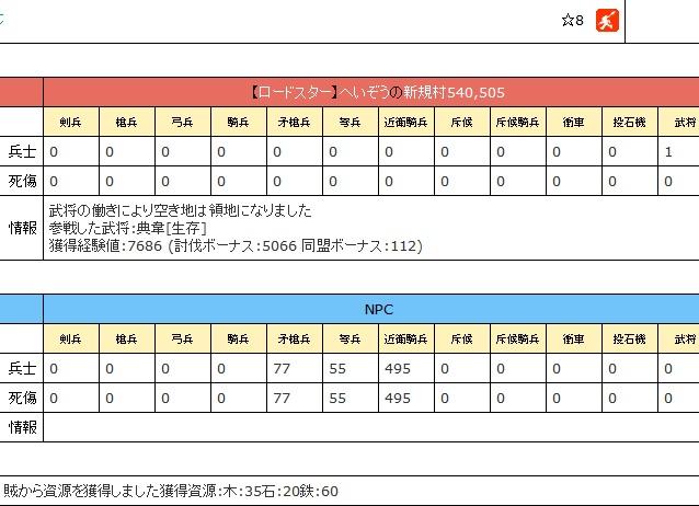 ☆8ゲット