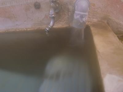 山田別荘さんとこの半端ないお湯の量