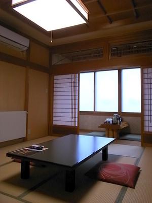 新館の部屋はこんな感じ