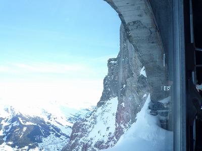 013,1,31、アイガーヴァント駅(2,865m)、からの山並み、P1040188