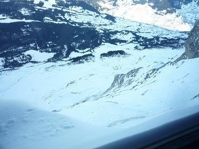 013,1,31、アイガーヴァント駅(2,865m)、からの山並み、P1040191