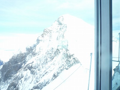 013,1,31、ユングフラウヨッホスインクス展望台(3,571m)からの山並み、P1040198