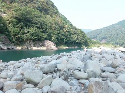 013,8、15、北川村、川下へ、s-P8150025