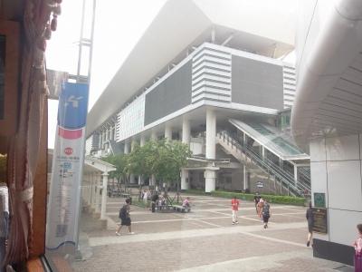 9,2、台湾ツワー新幹線高雄駅外観、P9020074