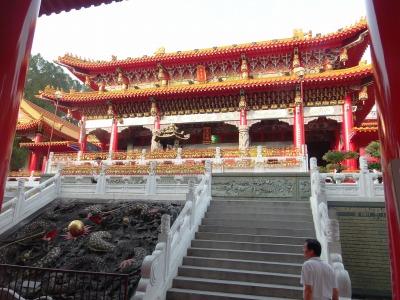 9,3、台湾ツワー、日月たんの文武廟、P9030132