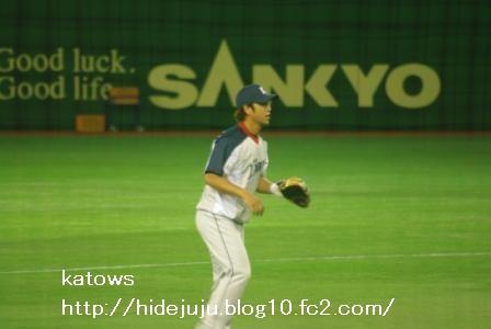 中島選手 練習1