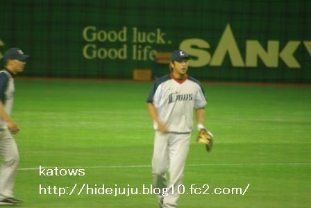 中島選手 練習2