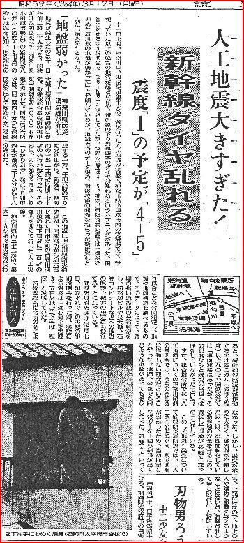1984年3月12日 読売新聞 朝刊23面