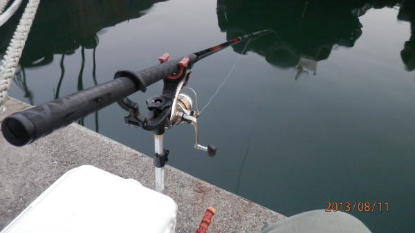 5:05 釣り開始 ♪
