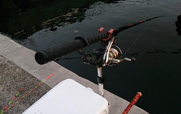 5:20 釣り開始 ♪