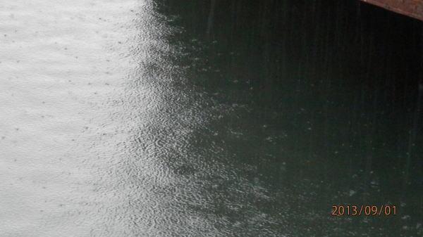 6:20 ごろ、雨が ・・・