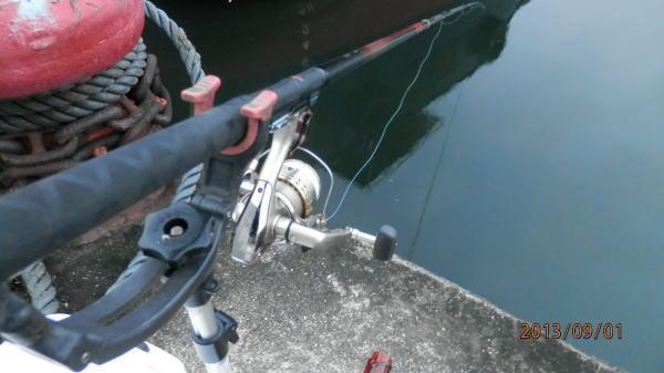 薄暗~い時間から釣り開始 ♪