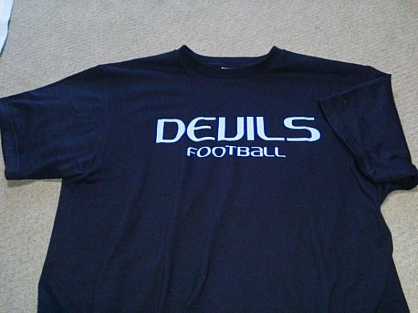 近畿大学DEVILS(デビルス)のTシャツ