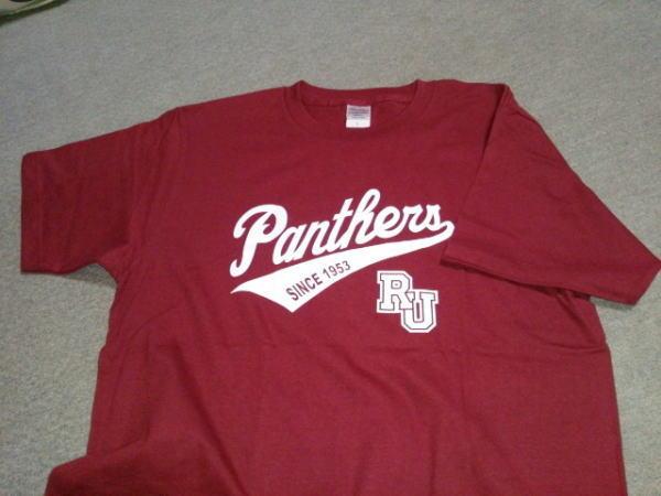 立命館大学PANTHERS(パンサーズ)のTシャツ