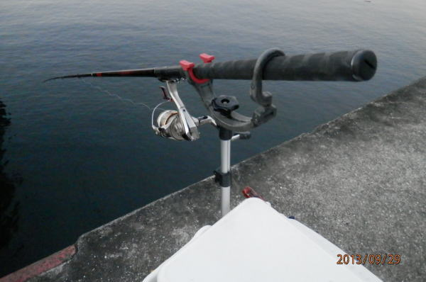 5:38 釣り開始 ^^