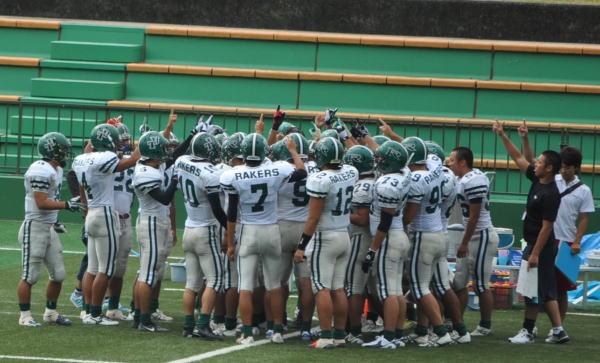 004 鳥取大学 試合前のハドル