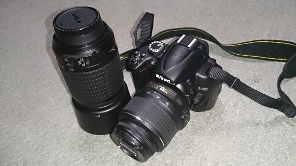 一眼レフは、Nikon