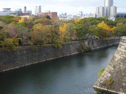 大阪城 お堀