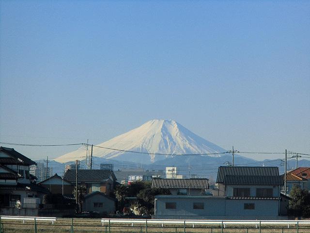 富士山がきれいです