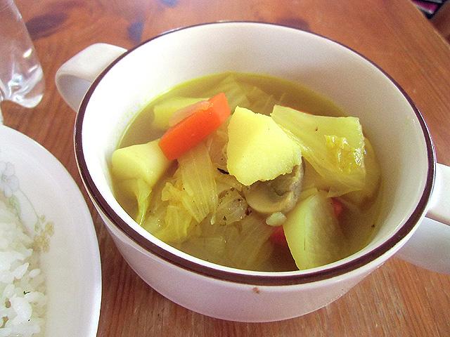 野菜スープできあがり